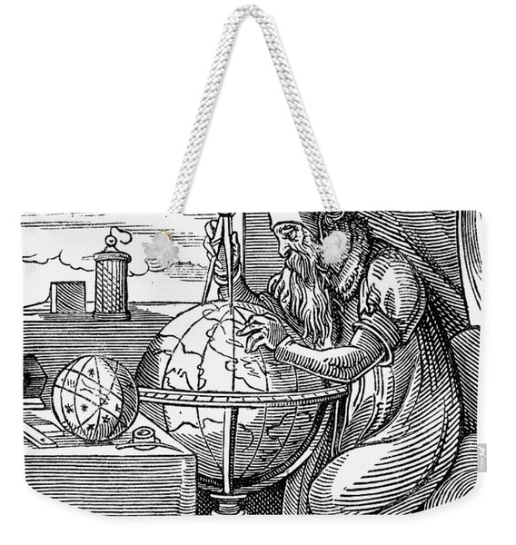 Astronomer, 16th Century Weekender Tote Bag