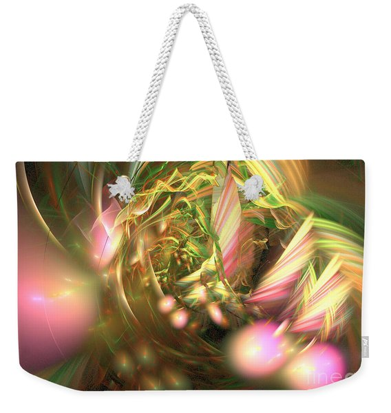 At Dawn - Abstract Art Weekender Tote Bag