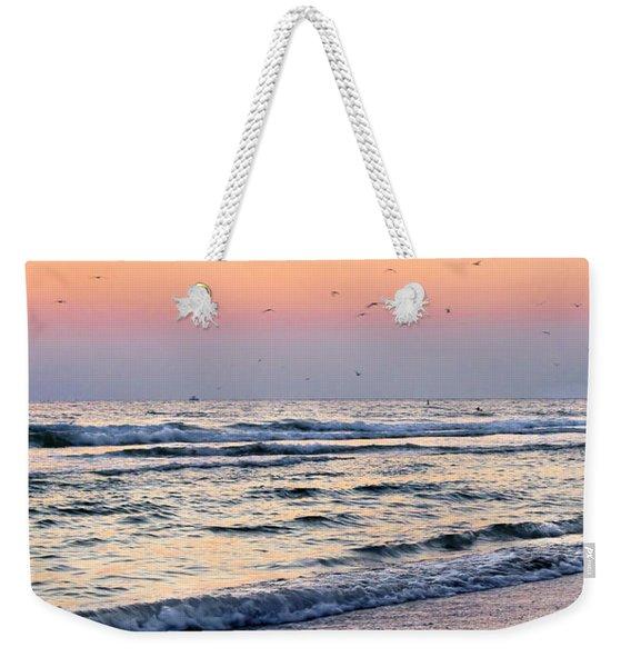 At Sunset Weekender Tote Bag