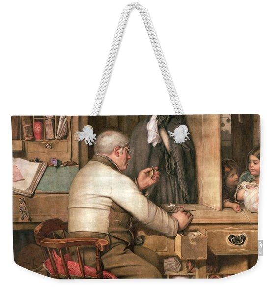 At The Pawnbroker Weekender Tote Bag