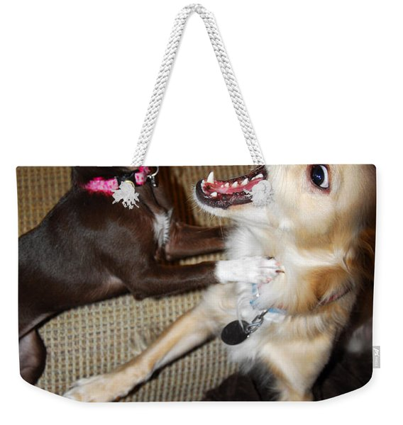 Attack Dogs Weekender Tote Bag