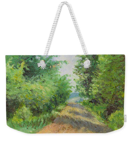 August Lane Weekender Tote Bag