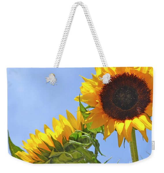 August Sunshine Weekender Tote Bag