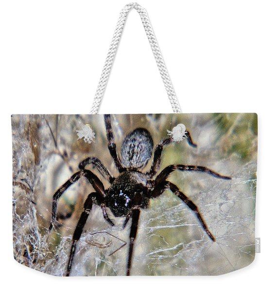 Australian Spider Badumna Longinqua Weekender Tote Bag