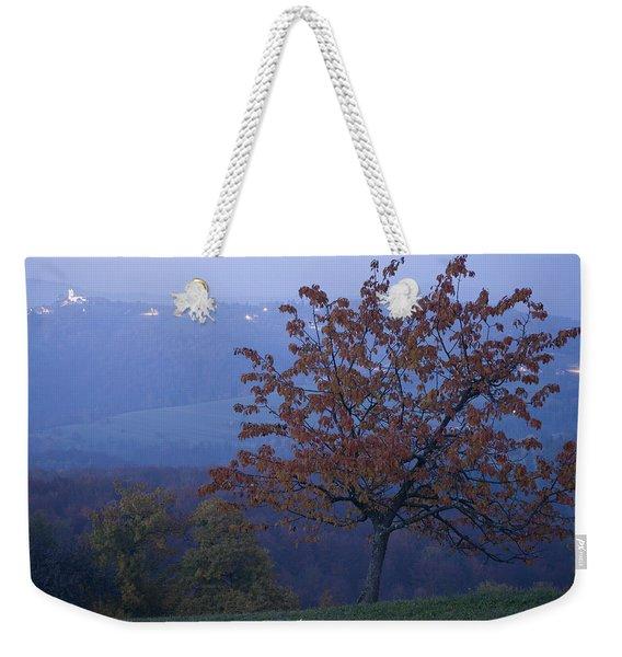 Autumn Colour At Dusk Weekender Tote Bag