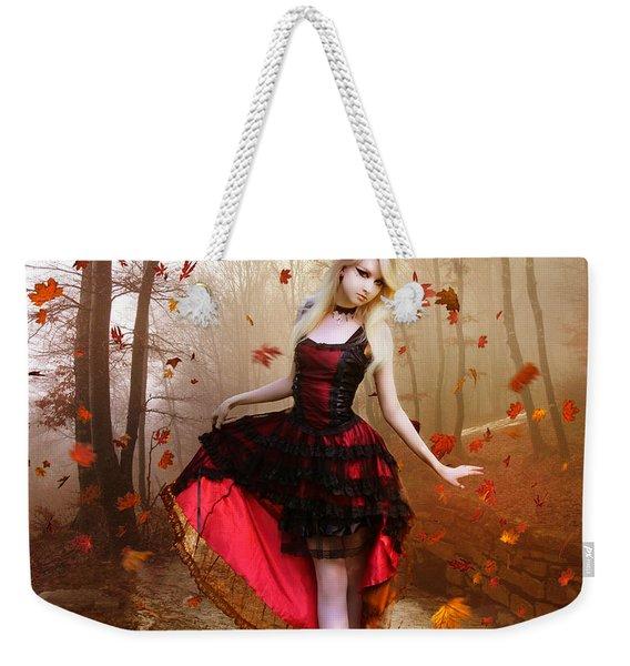 Autumn Waltz Weekender Tote Bag