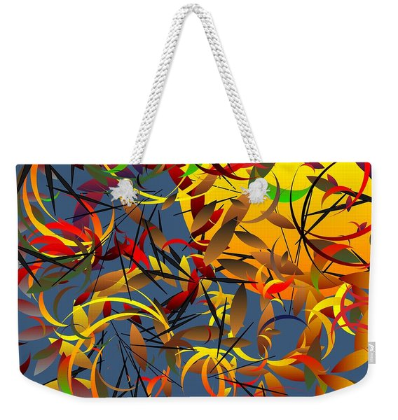 Autumn Wind 2012 Weekender Tote Bag