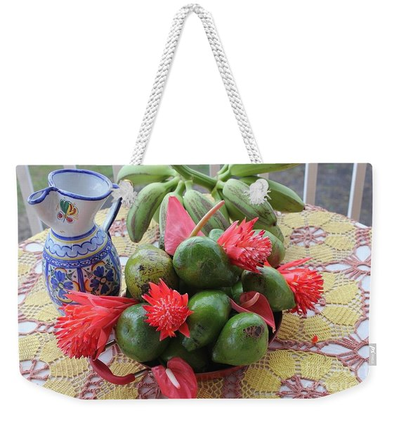 Avocado Time Weekender Tote Bag