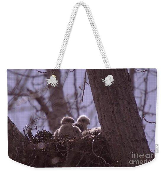 Baby Hawks Weekender Tote Bag