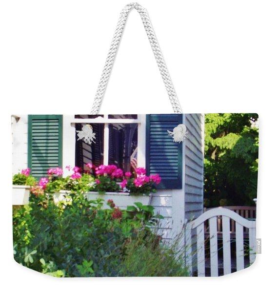 Back Gate Weekender Tote Bag