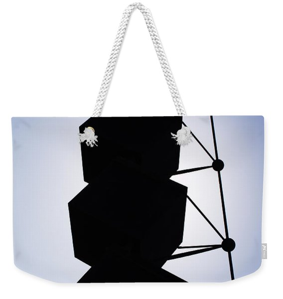 Backlight Structure Weekender Tote Bag