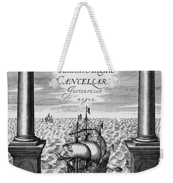 Bacon: Title-page, 1620 Weekender Tote Bag
