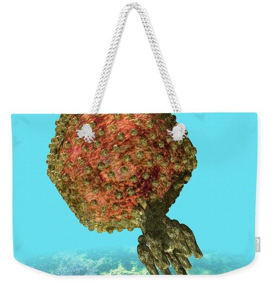 Bacteriophage P22 Weekender Tote Bag
