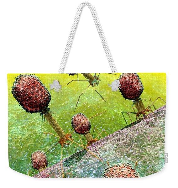 Bacteriophage T4 Virus Group 2 Weekender Tote Bag