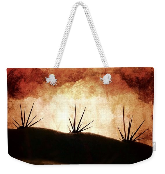 Baja Light Shimmer Weekender Tote Bag