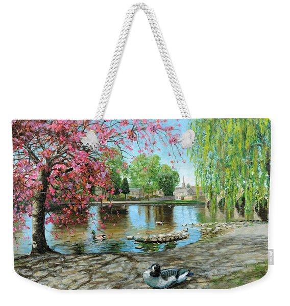 Bakewell Bridge - Derbyshire Weekender Tote Bag