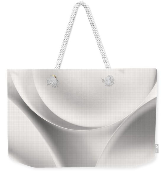 Ball And Curves 01 Weekender Tote Bag