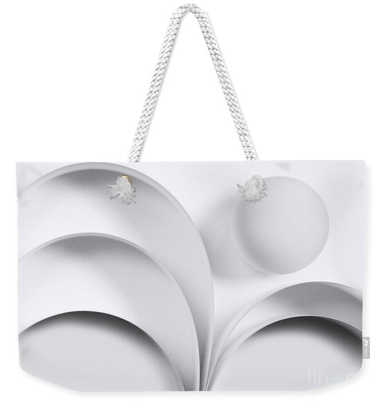 Ball And Curves 05 Weekender Tote Bag