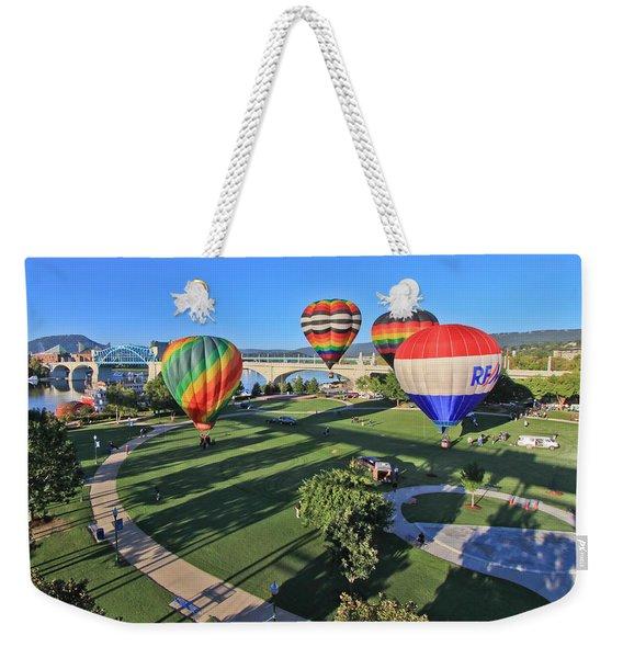Balloons In Coolidge Park Weekender Tote Bag