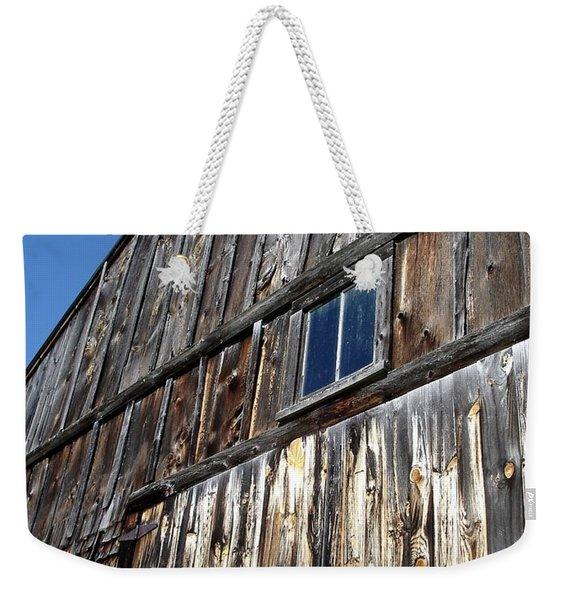 Barn End Looking Up Weekender Tote Bag