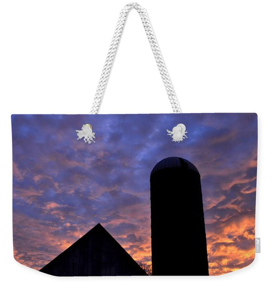 Barnyard Sunrise I Weekender Tote Bag