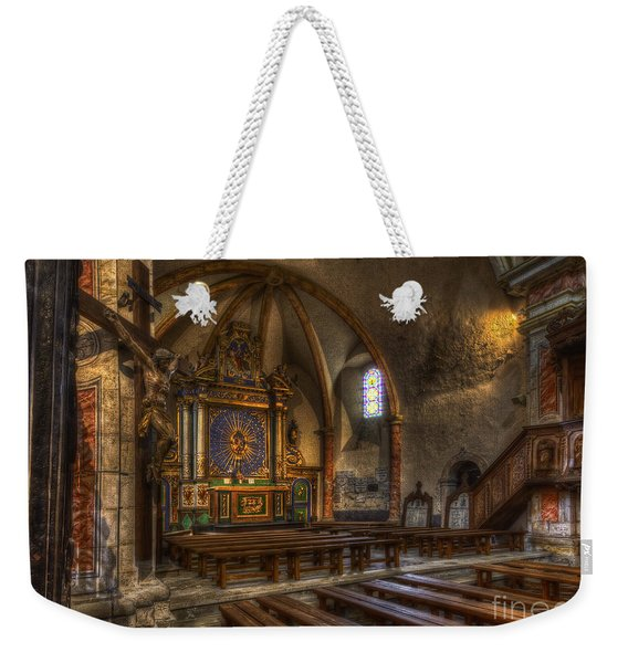 Baroque Church In Savoire France 2 Weekender Tote Bag