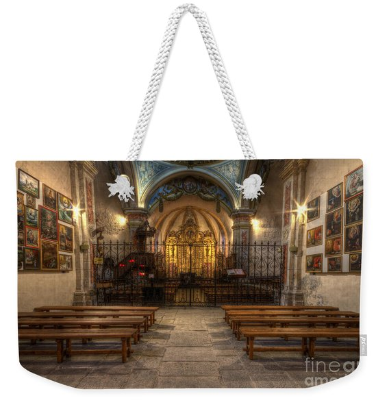 Baroque Church In Savoire France 4 Weekender Tote Bag