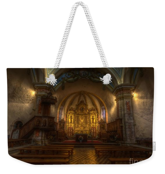 Baroque Church In Savoire France Weekender Tote Bag