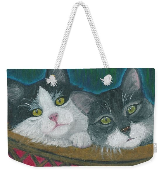 Basket Of Kitties Weekender Tote Bag