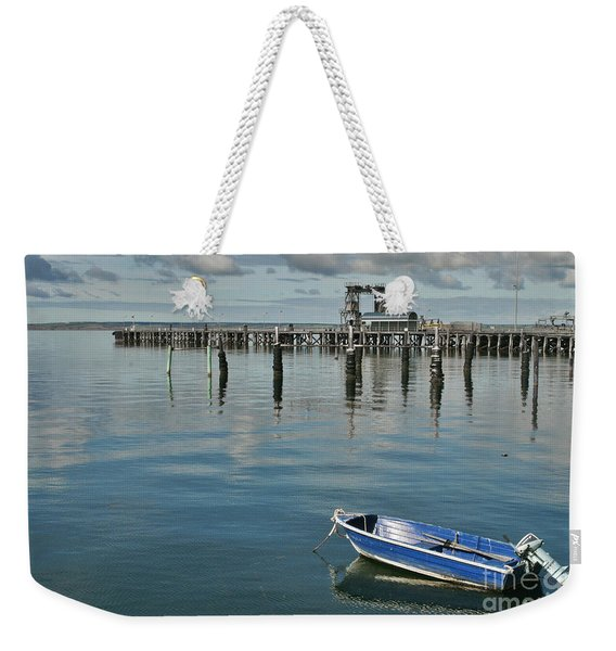 Bay Of Whispers Weekender Tote Bag