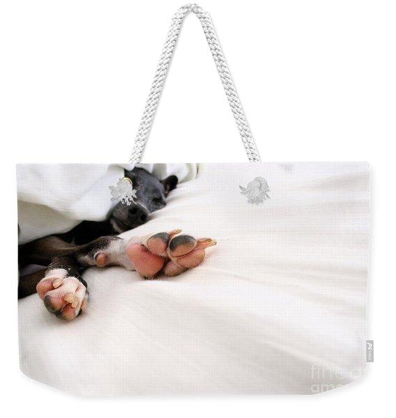 Bed Feels So Good Weekender Tote Bag