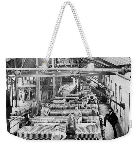 Beet Sugar Factory In Greeley Colorado - C 1908 Weekender Tote Bag