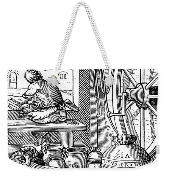 Bell & Cannon Caster Weekender Tote Bag
