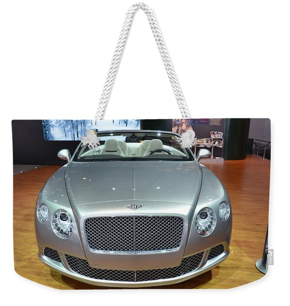 Bentley Starting Price Just Below 200 000 Weekender Tote Bag