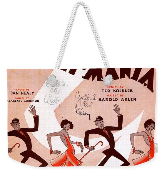 Between The Devil And The Deep Blue Sea Weekender Tote Bag