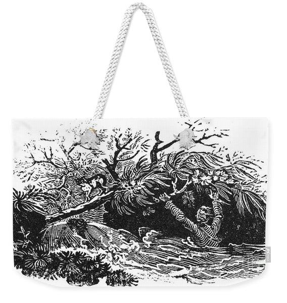 Bewick: Man Drowning Weekender Tote Bag