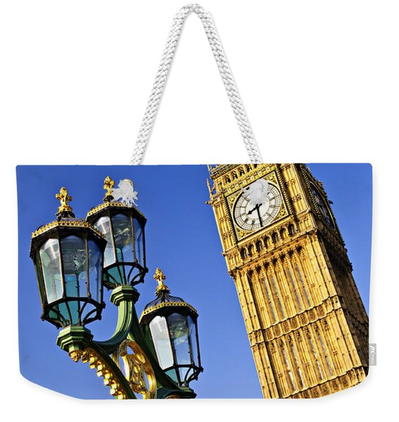 Big Ben And Palace Of Westminster Weekender Tote Bag