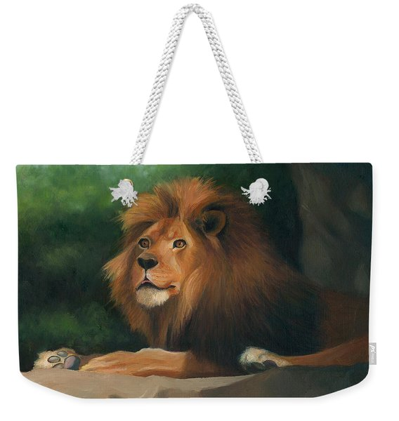 Big Cat Weekender Tote Bag