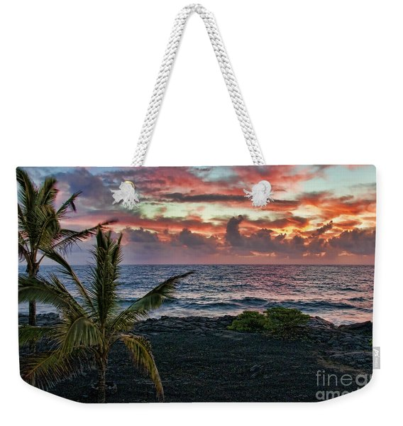 Big Island Sunrise Weekender Tote Bag