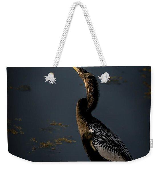 Black Light Weekender Tote Bag