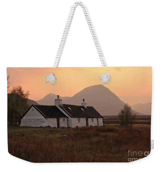 Black Rock Cottage Sunset Weekender Tote Bag