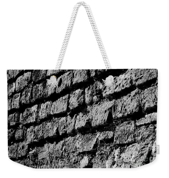 Black Wall Weekender Tote Bag