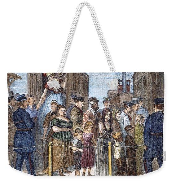 Blackwells Island, 1868 Weekender Tote Bag