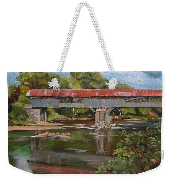 Blair Bridge Campton New Hampshire Weekender Tote Bag