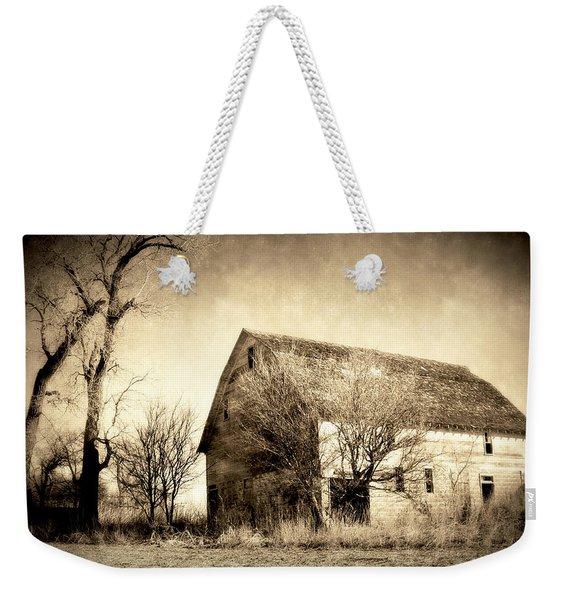 Block Barn Weekender Tote Bag