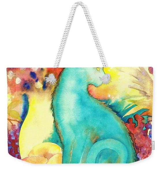 Blue Damsel Weekender Tote Bag