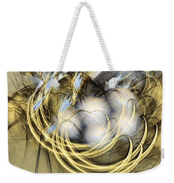 Blue Lullaby - Abstract Art Weekender Tote Bag