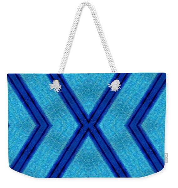Blue Serenity's X-file Weekender Tote Bag