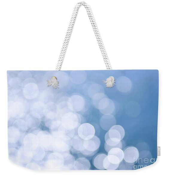 Blue Water And Sunshine Abstract Weekender Tote Bag