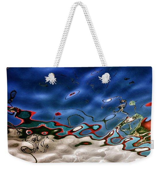 Boat Reflexion Weekender Tote Bag